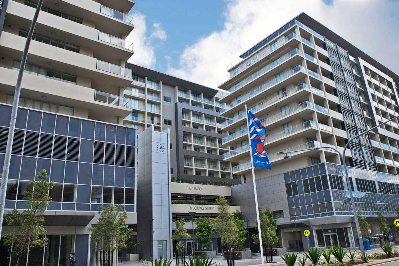 Main view of Homely apartment listing, 902B/8 Bourke Street, Mascot NSW 2020