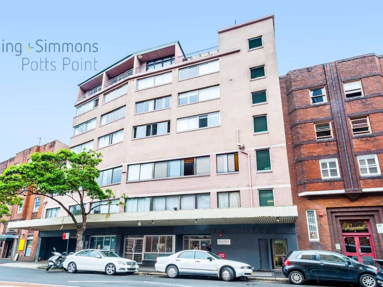 Main view of Homely studio listing, 508/5 Ward Avenue, Potts Point, NSW 2011