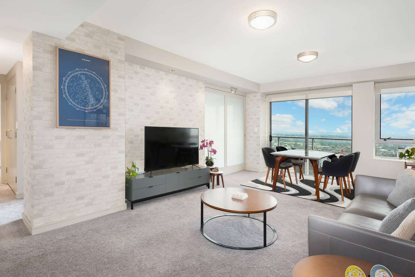 Main view of Homely apartment listing, 3203/79-81 Berry Street, North Sydney NSW 2060