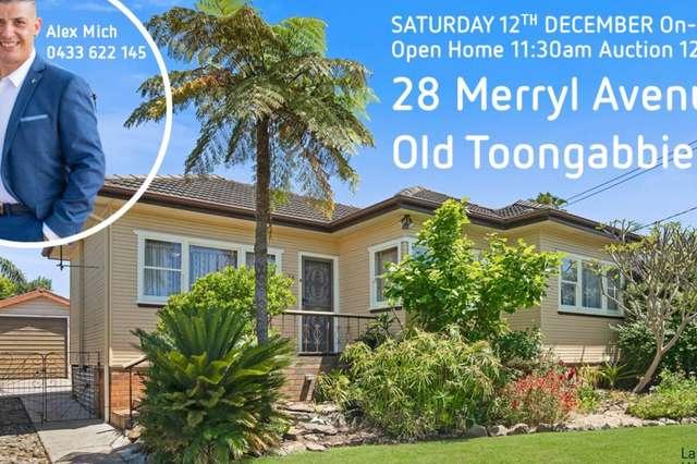 28 Merryl Ave, Old Toongabbie NSW 2146