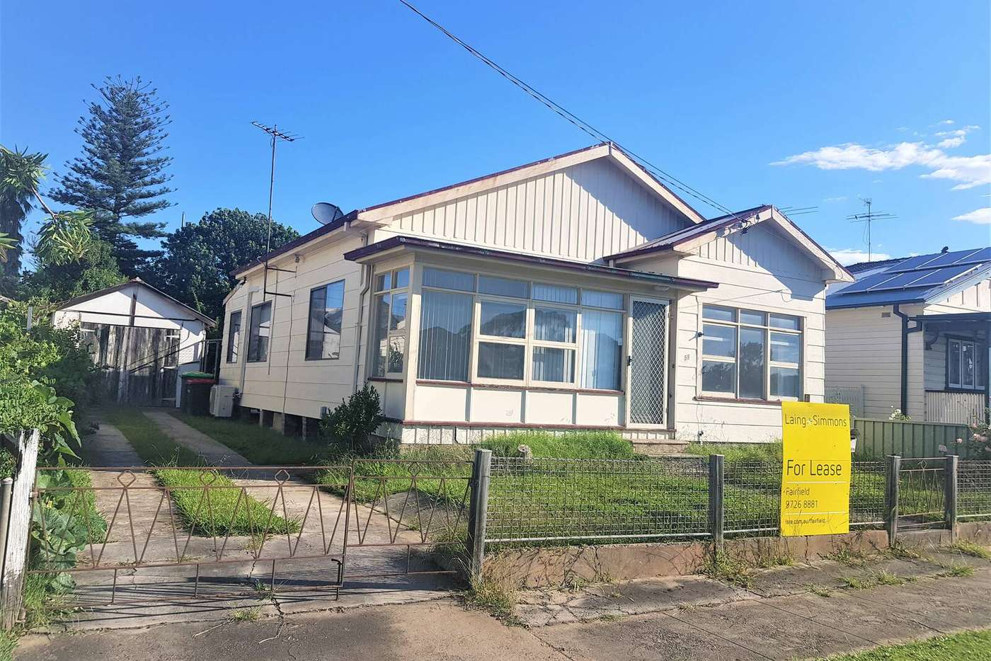 Main view of Homely house listing, 58 Louis Street, Granville NSW 2142