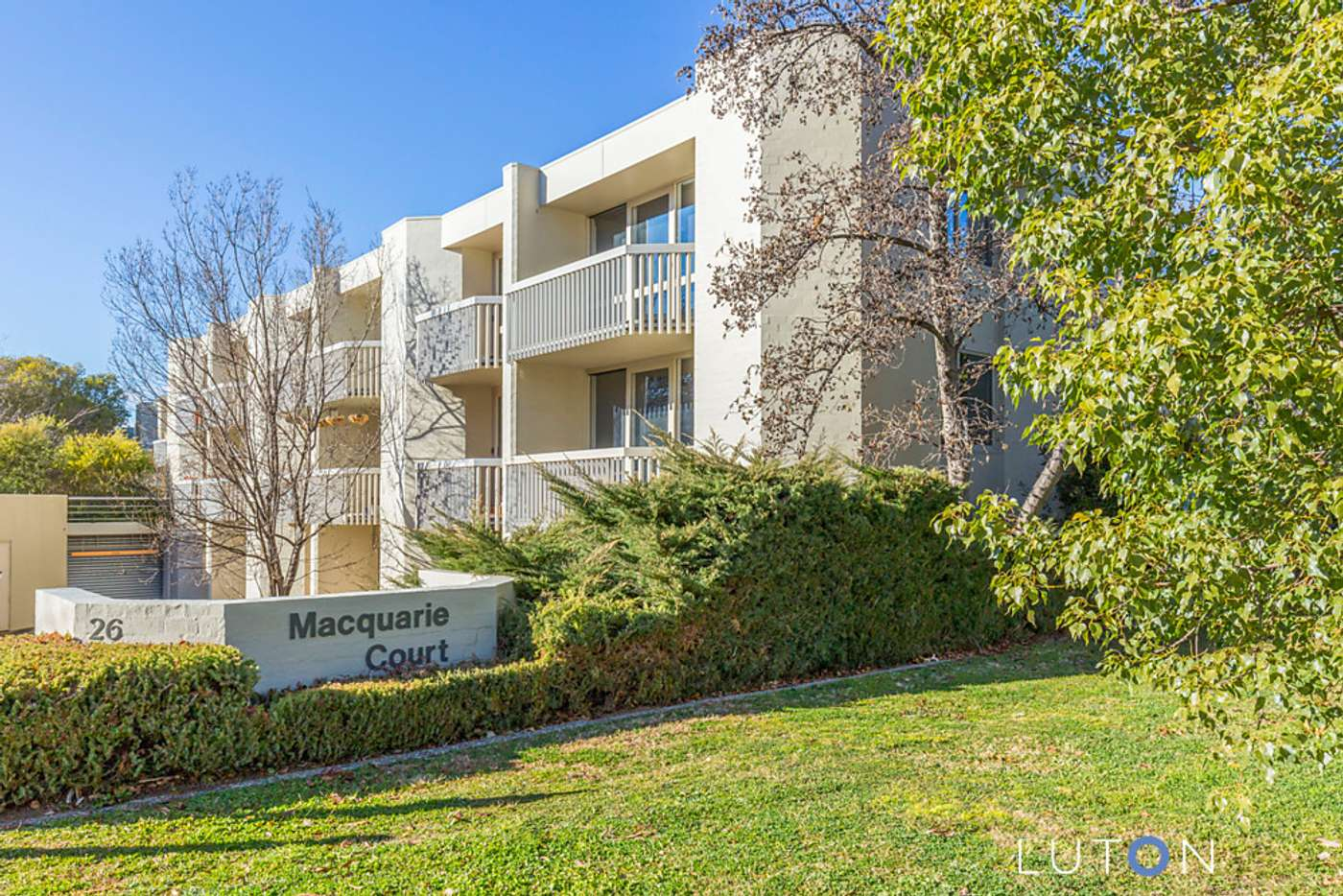 Main view of Homely apartment listing, 37/26 Macquarie Street, Barton ACT 2600