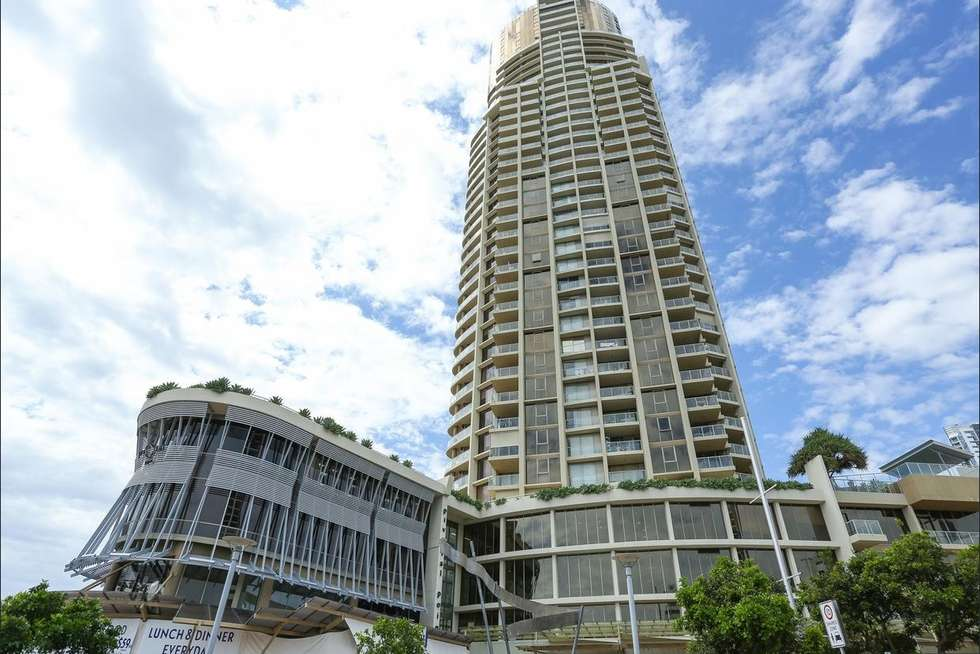 Second view of Homely apartment listing, 1803/50 Marine Parade, Southport QLD 4215