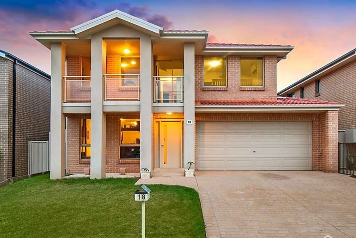 Main view of Homely house listing, 18 Rosebrook Ave, Kellyville Ridge NSW 2155