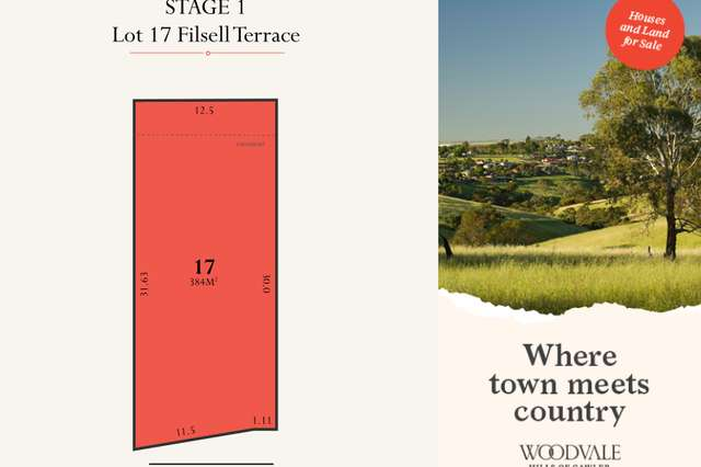 Lot 17 Filsell Terrace, Gawler South SA 5118