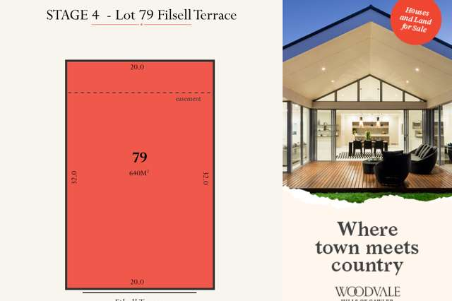 Lot 79 Filsell Terrace, Gawler South SA 5118