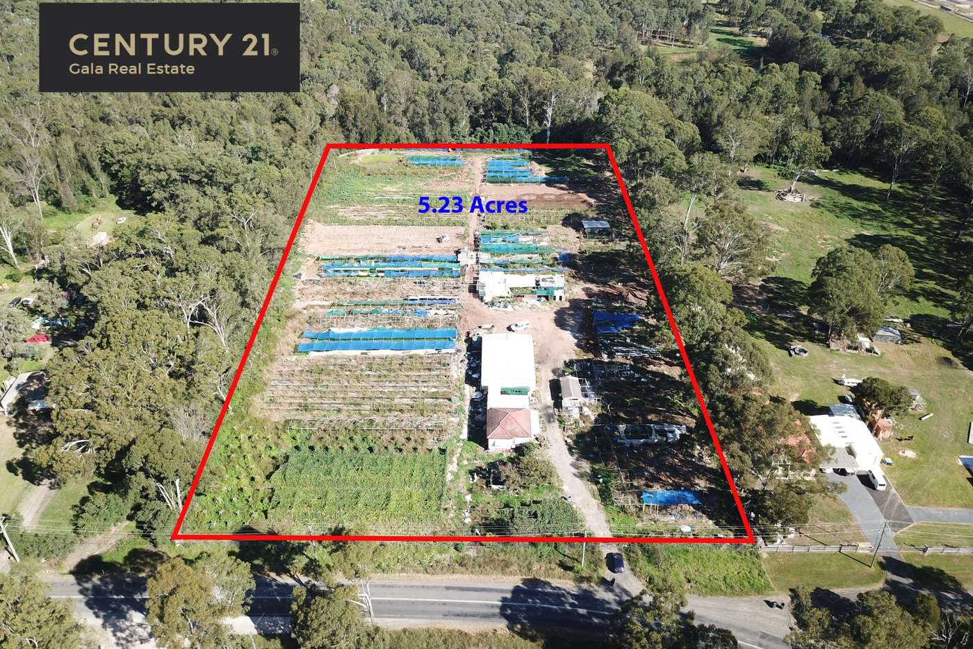 Main view of Homely acreageSemiRural listing, 195 Barry Avenue, Rossmore NSW 2557