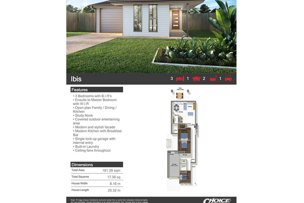 Second view of Homely house listing, LOT 35 Idyllic Street, Park Ridge QLD 4125