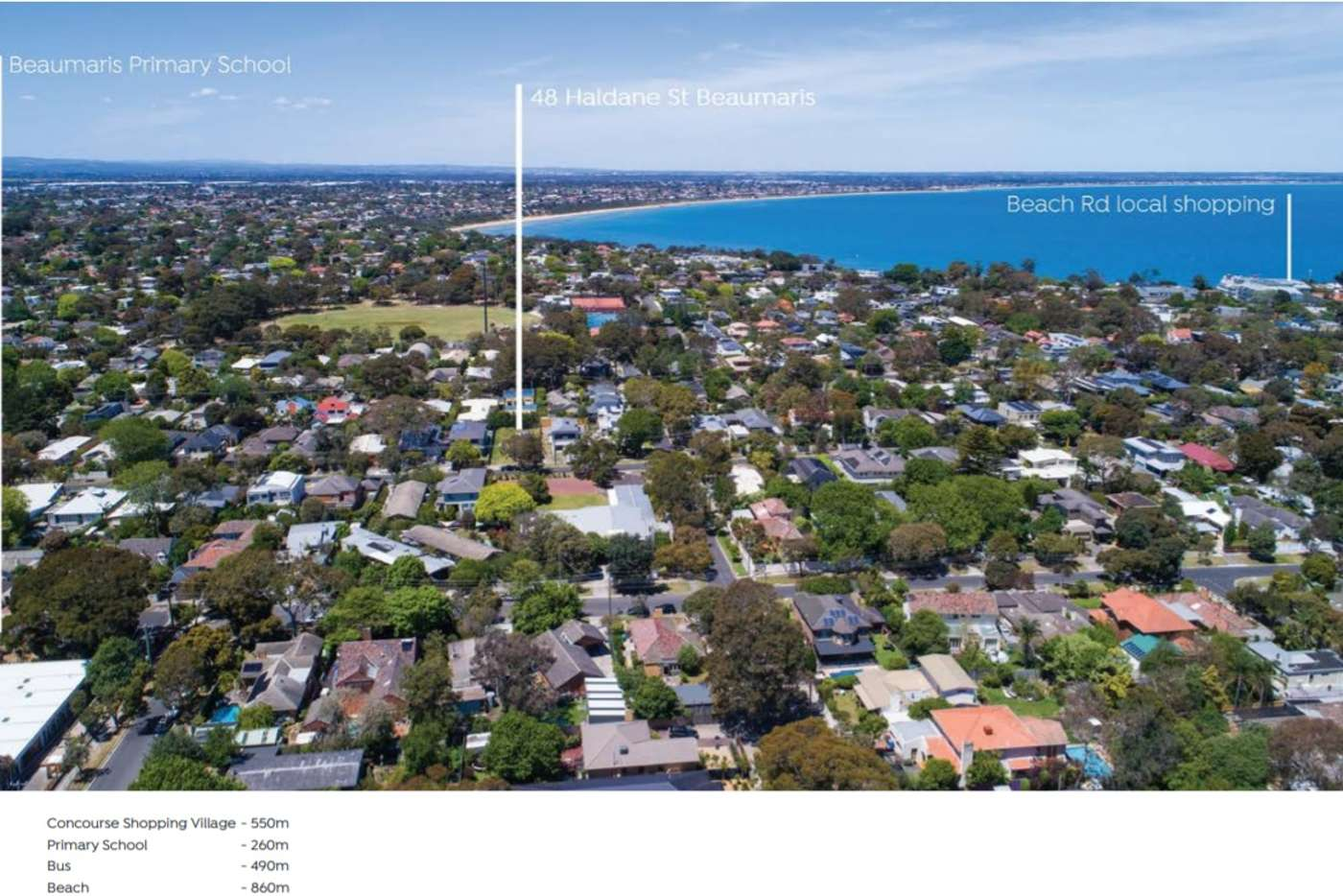 Fourth view of Homely townhouse listing, 48a Haldane Street, Beaumaris VIC 3193