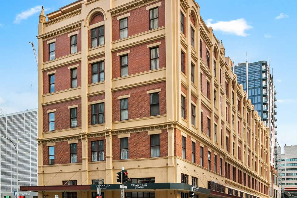 Second view of Homely apartment listing, 506/21-39 Bentham Street, Adelaide SA 5000