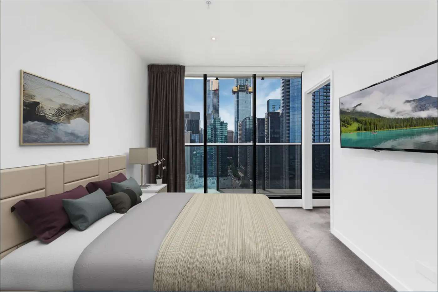Fifth view of Homely apartment listing, 2304/250 City Road, Southbank VIC 3006