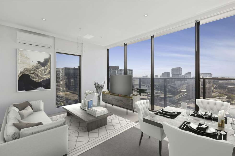 Third view of Homely apartment listing, 2807/250 City Road, Southbank VIC 3006