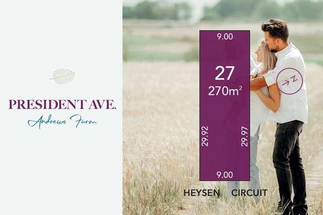 Lot 27 Heysen Circuit, Andrews Farm SA 5114