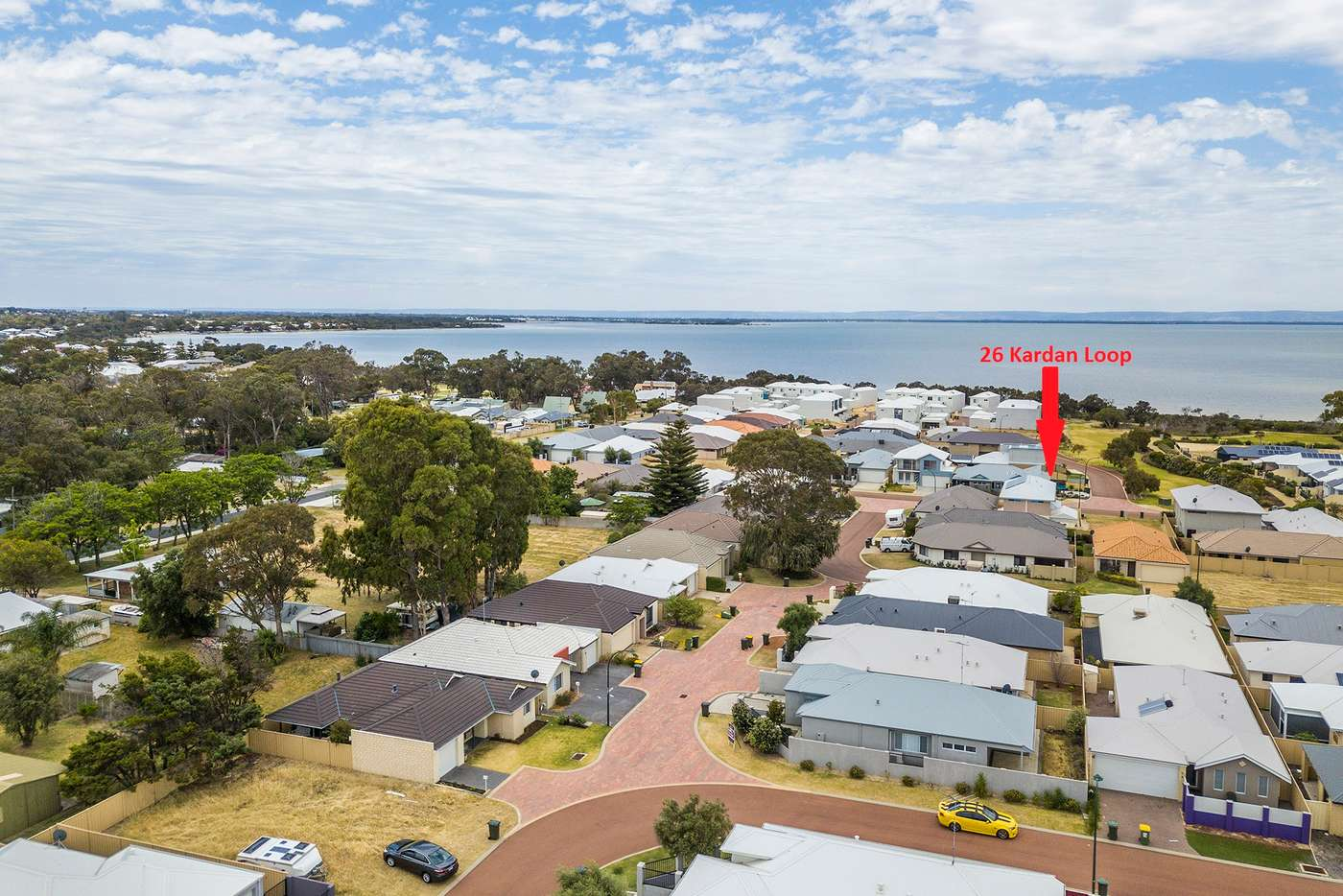 Main view of Homely residentialLand listing, 26 Kardan Loop, Falcon WA 6210