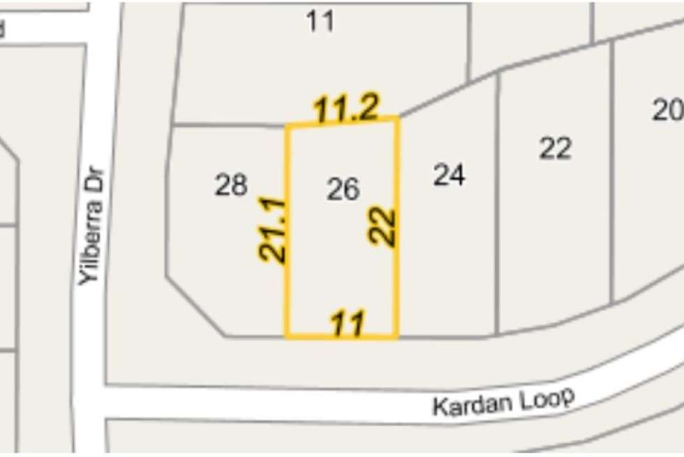 Third view of Homely residentialLand listing, 26 Kardan Loop, Falcon WA 6210
