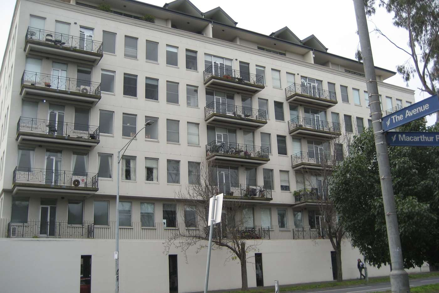 Main view of Homely apartment listing, 4/2 Macarthur Road, Parkville VIC 3052