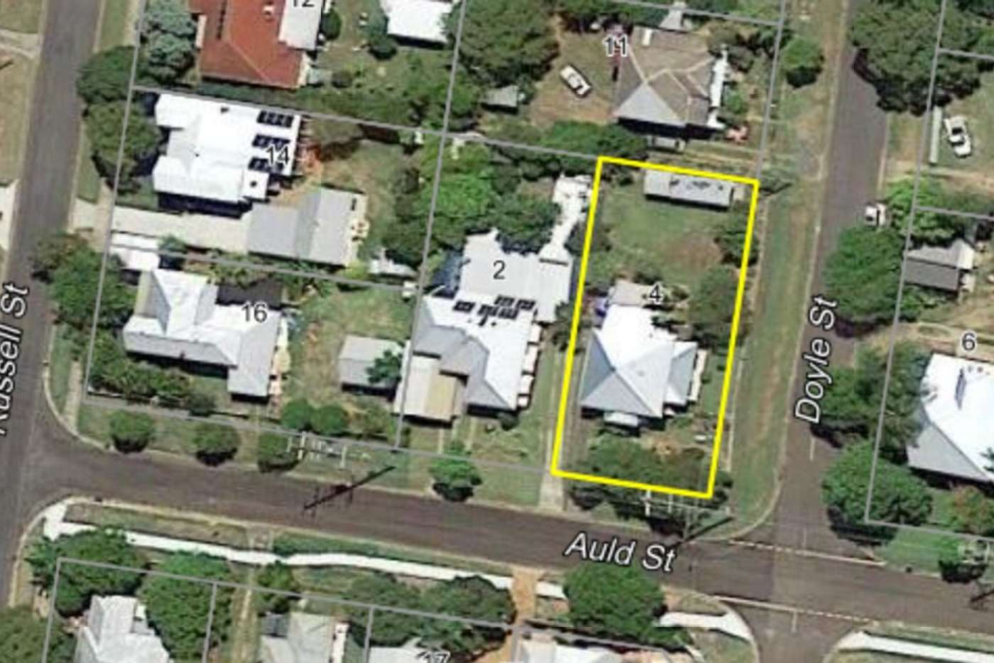 Main view of Homely house listing, 4 Auld Street, Silkstone QLD 4304