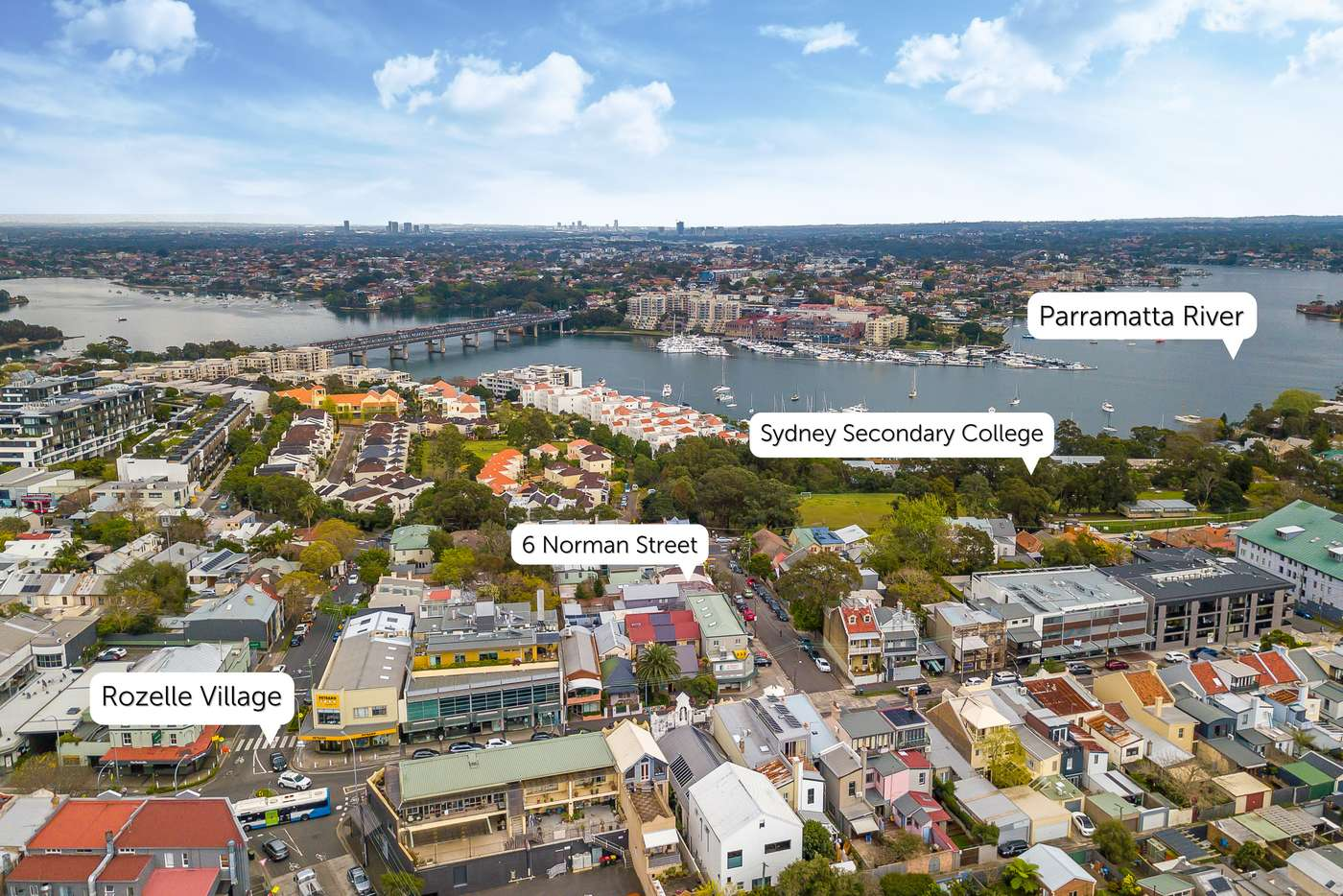 Main view of Homely house listing, 6 Norman Street, Rozelle NSW 2039
