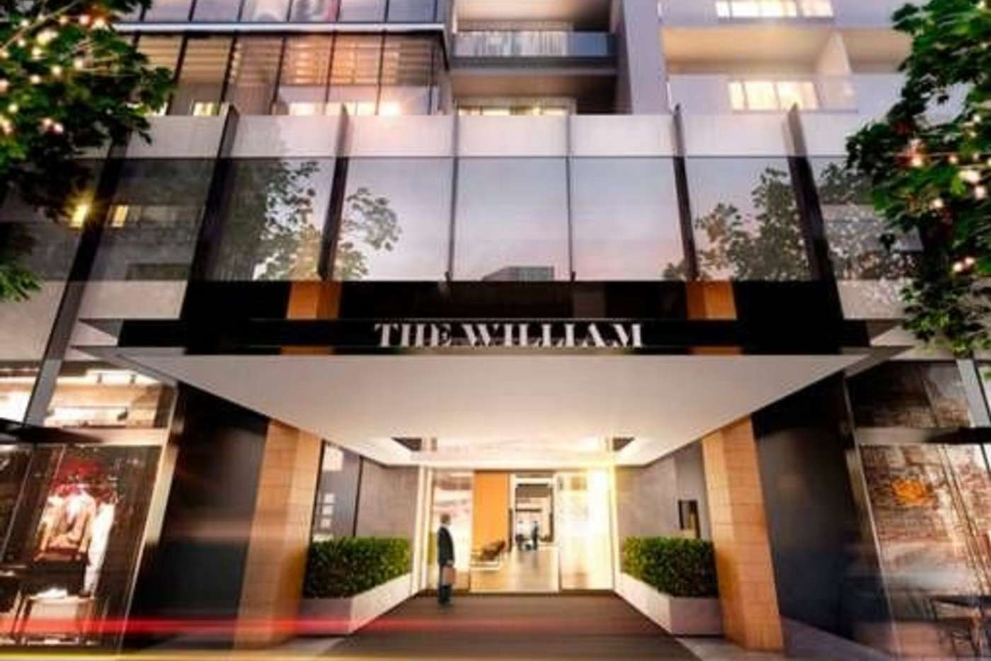 Main view of Homely apartment listing, 1607/199 William Street, Melbourne VIC 3000