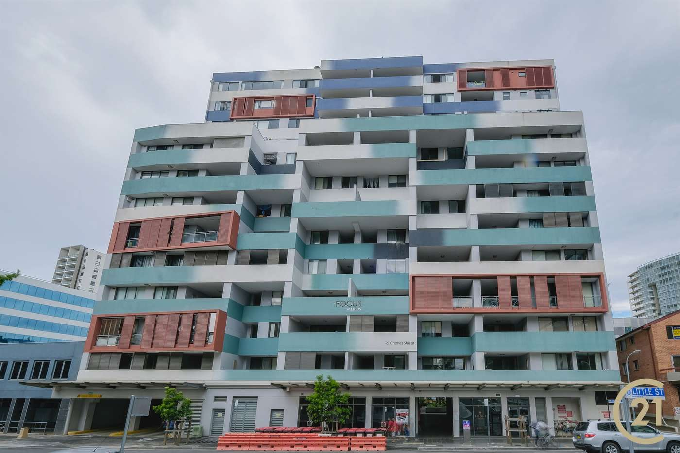 Main view of Homely apartment listing, 302/6 Charles Street, Parramatta NSW 2150