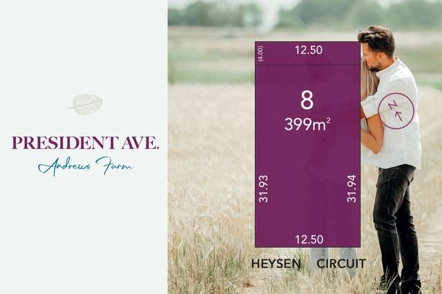 Lot 8 Heysen Circuit, Andrews Farm SA 5114