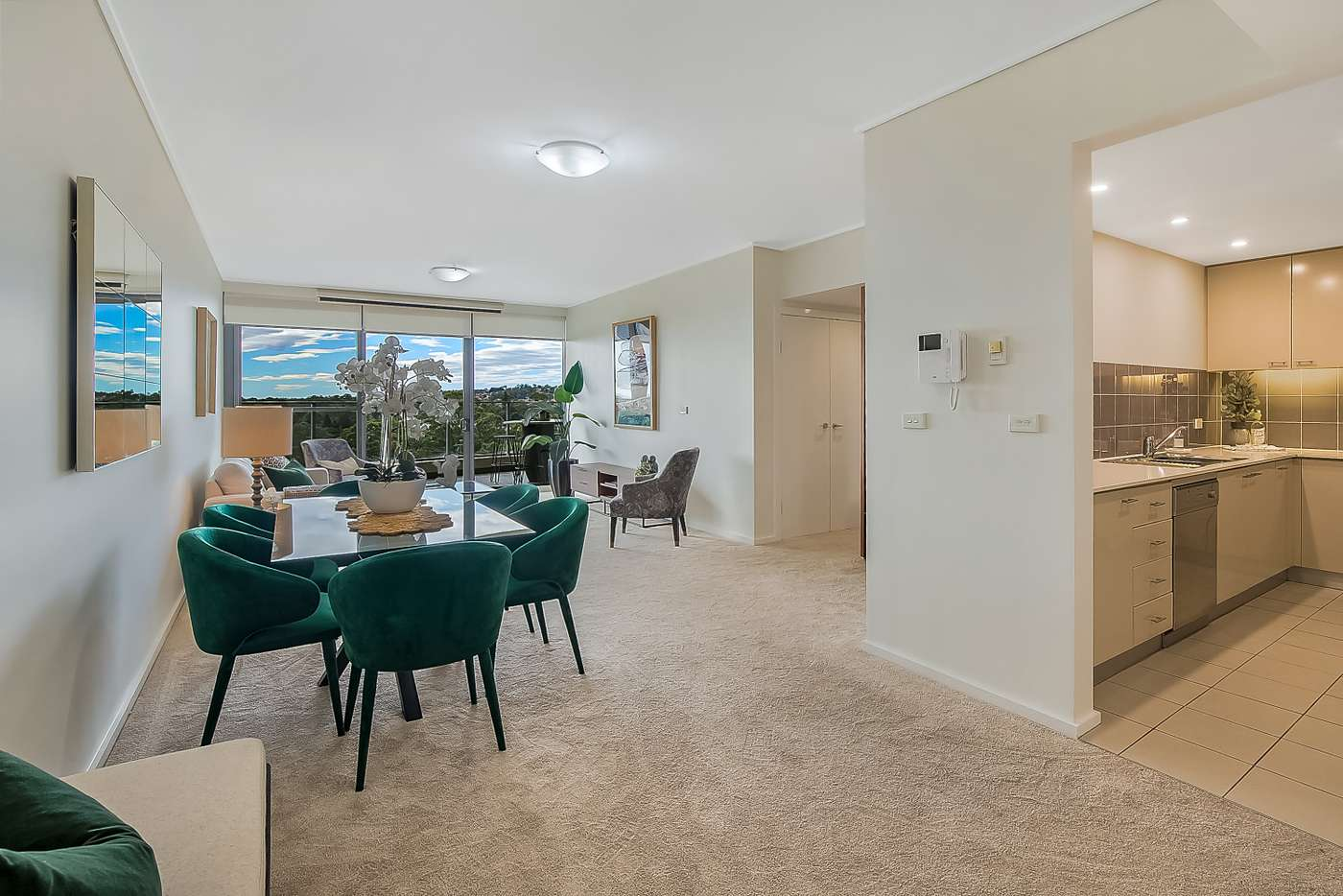Main view of Homely apartment listing, 705/12 Pennant street, Castle Hill NSW 2154