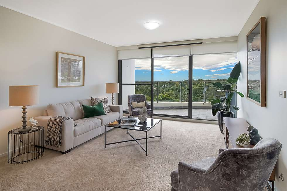 Third view of Homely apartment listing, 705/12 Pennant street, Castle Hill NSW 2154