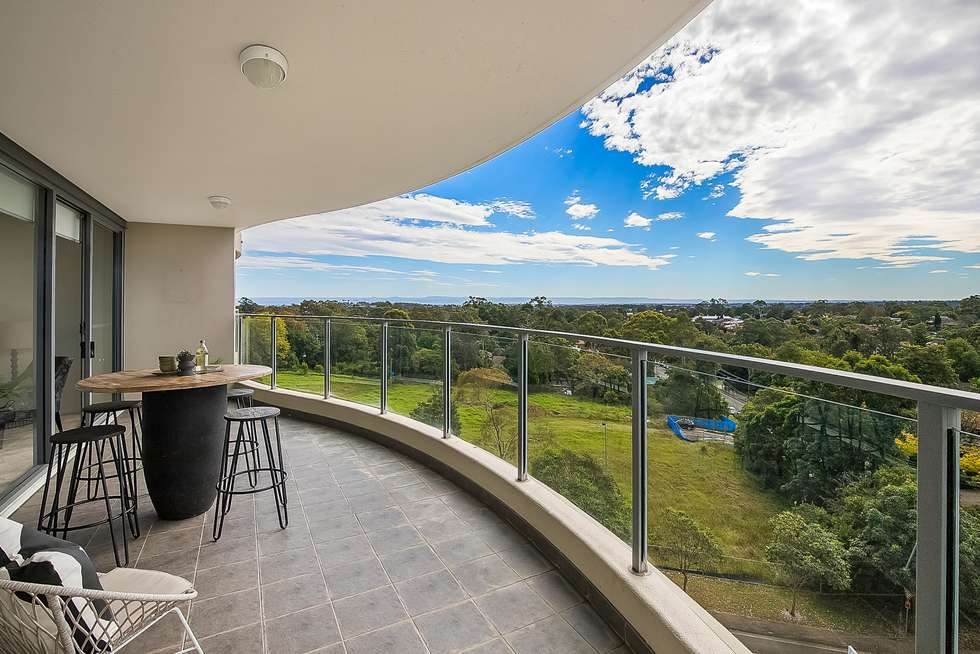 Fourth view of Homely apartment listing, 705/12 Pennant street, Castle Hill NSW 2154