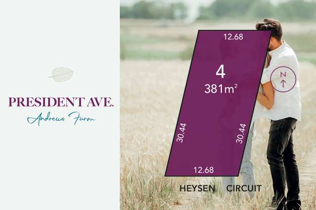 Lot 4 Heysen Circuit, Andrews Farm SA 5114