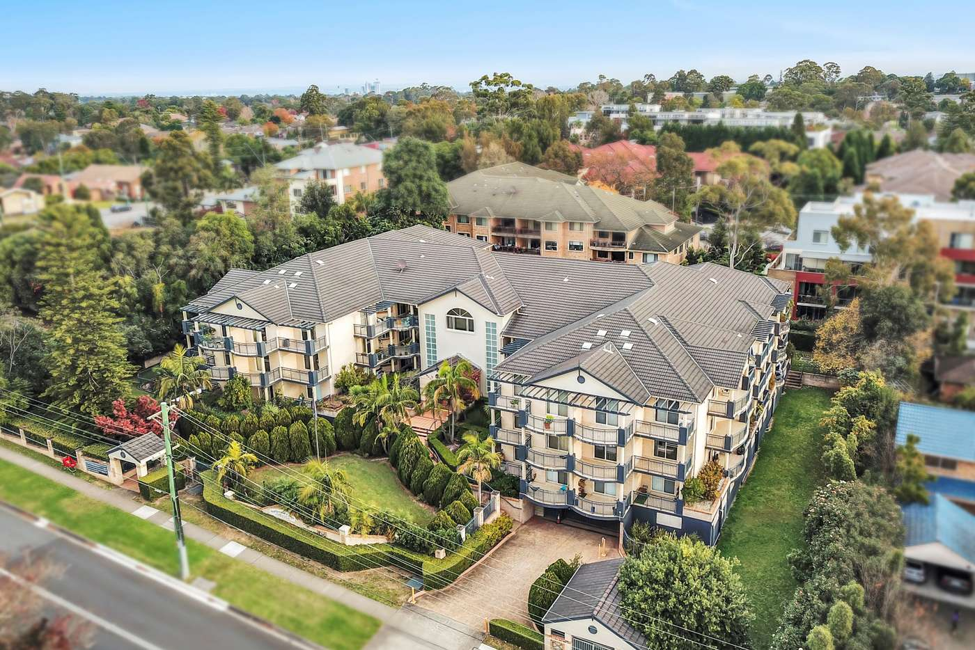 Main view of Homely apartment listing, 12/81-87 Cecil Avenue, Castle Hill NSW 2154