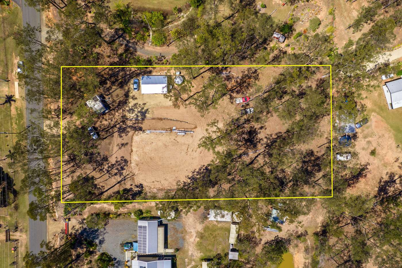 Main view of Homely residentialLand listing, 322 Arborten Road, Glenwood QLD 4570