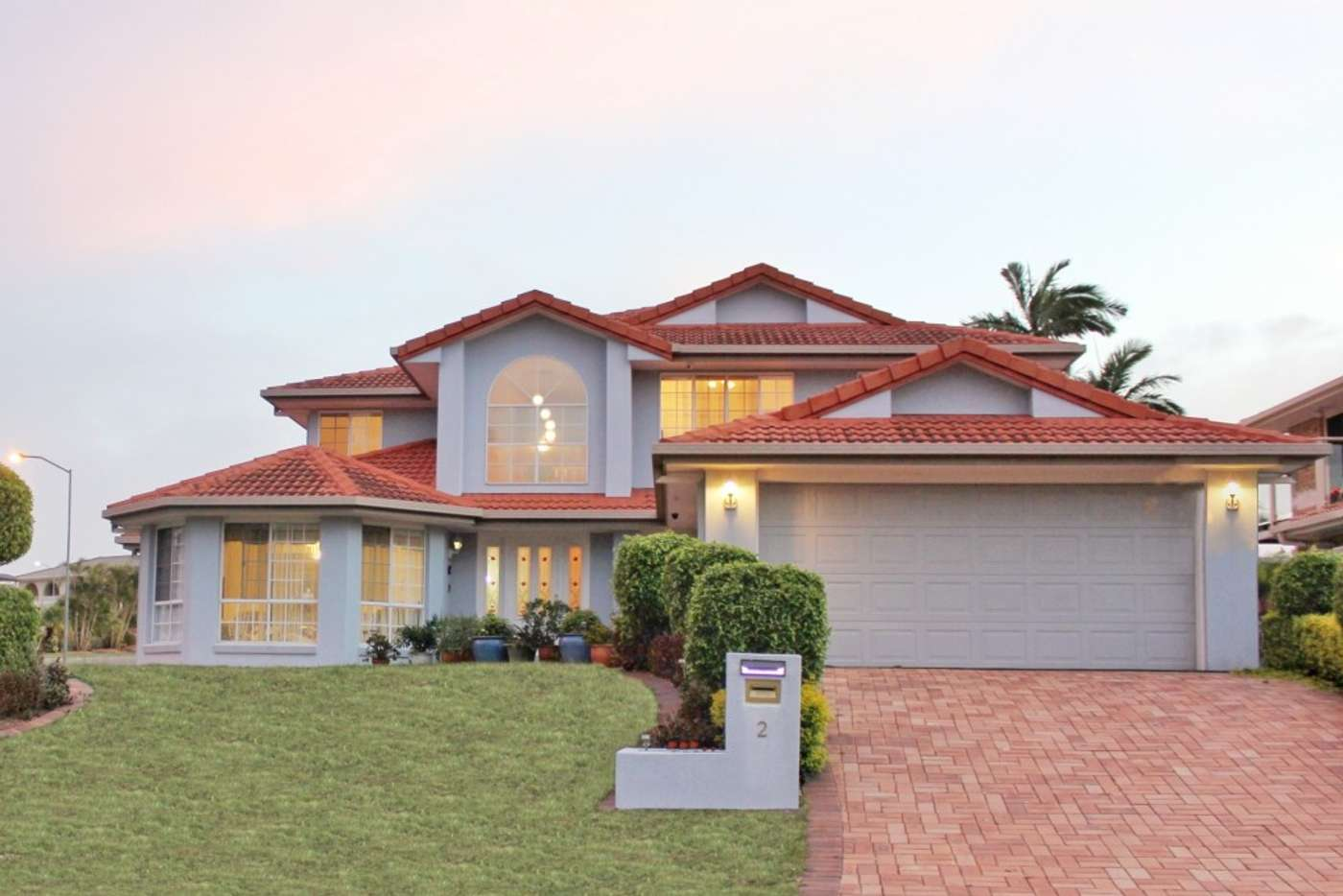 Main view of Homely house listing, 2 Cascade Close, Riverhills QLD 4074