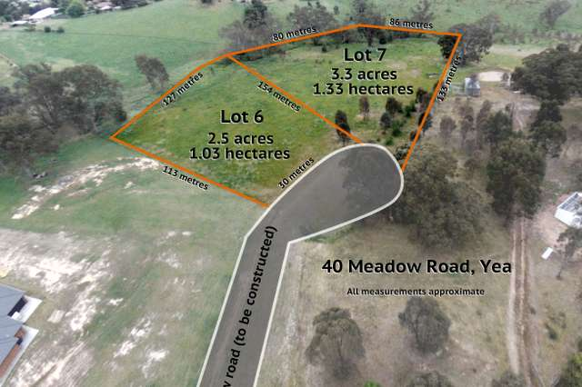 44 (Lot 7) Meadow Road, Yea VIC 3717