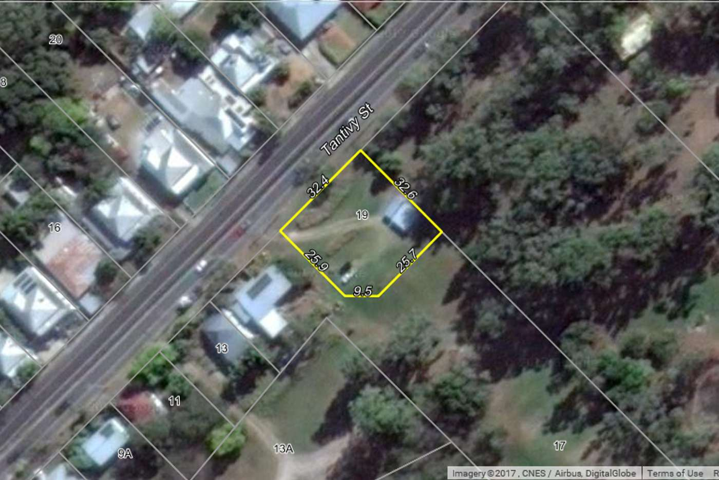Main view of Homely residentialLand listing, 19 Tantivy Street, Tivoli QLD 4305