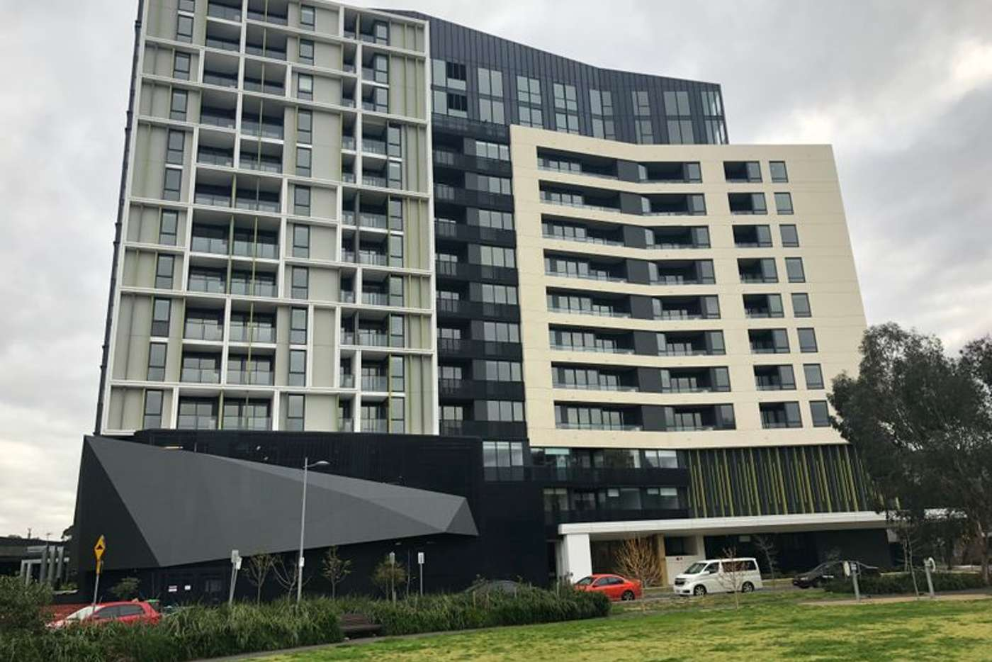 Main view of Homely apartment listing, 814/91 Galada Avenue, Parkville VIC 3052