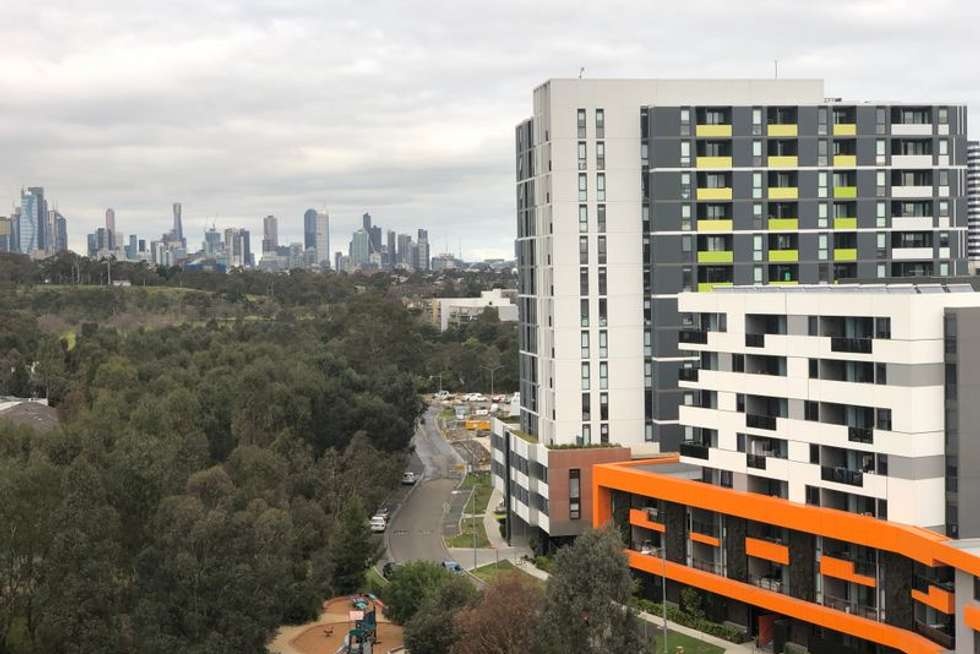 Third view of Homely apartment listing, 814/91 Galada Avenue, Parkville VIC 3052