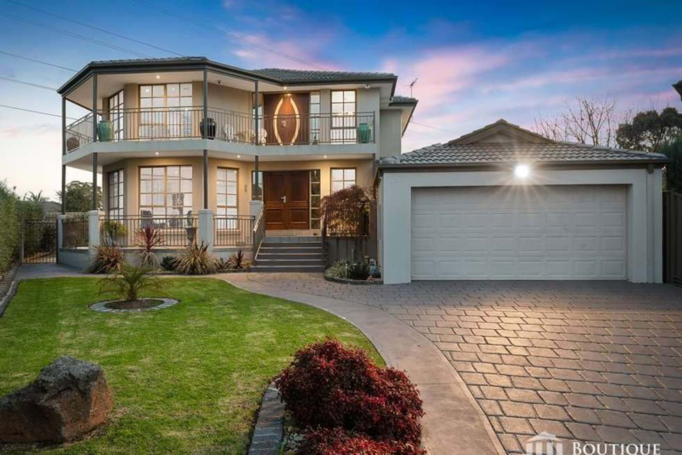 Second view of Homely house listing, 17 Dougherty Court, Mulgrave VIC 3170