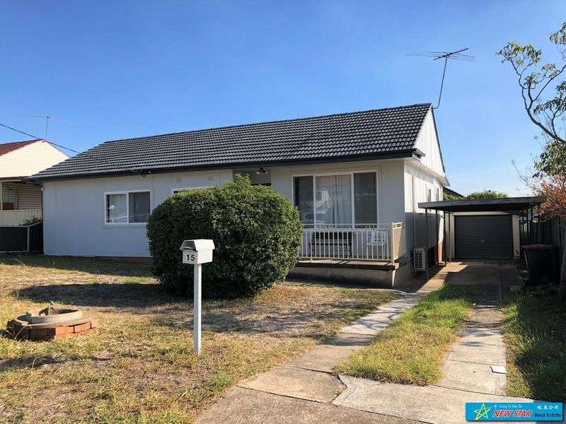 Main view of Homely house listing, 15 Mcilvenie Street, Canley Heights, NSW 2166