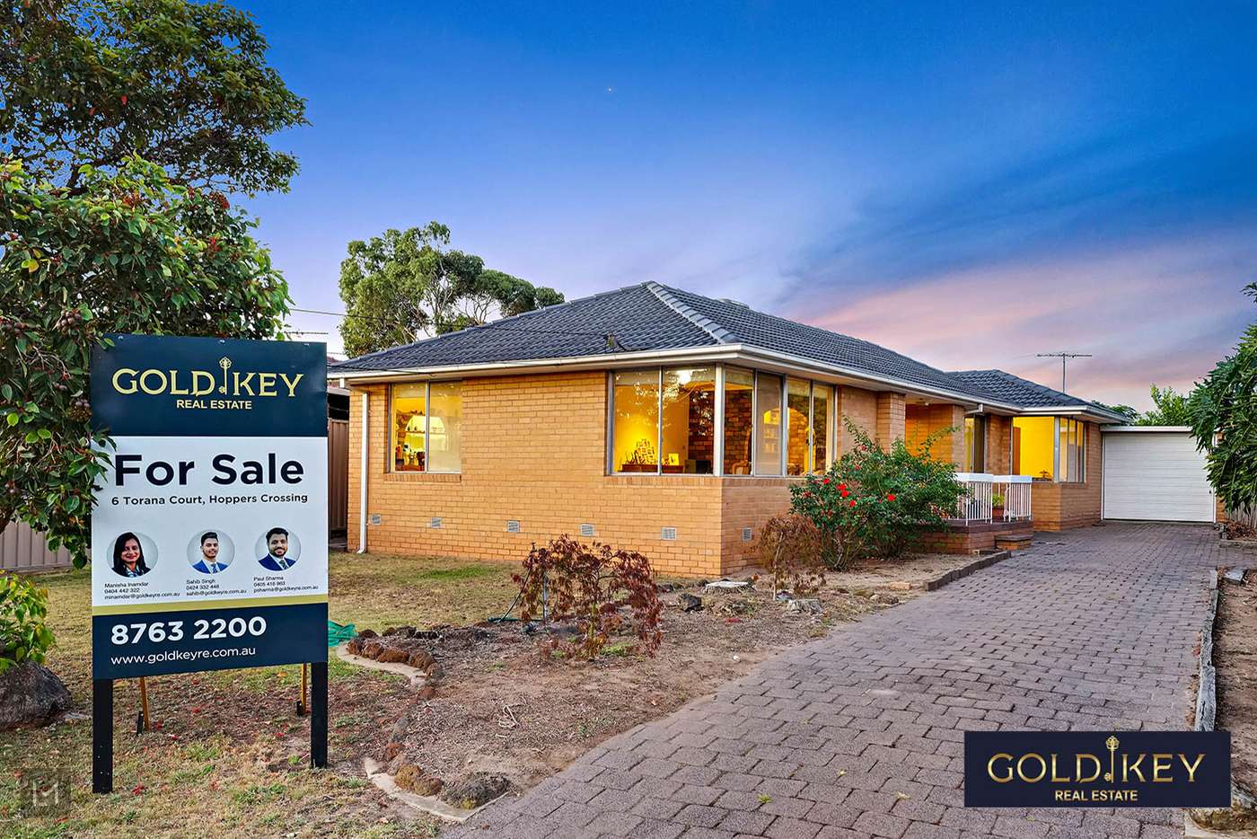 Main view of Homely house listing, 6 Torana Court, Hoppers Crossing VIC 3029