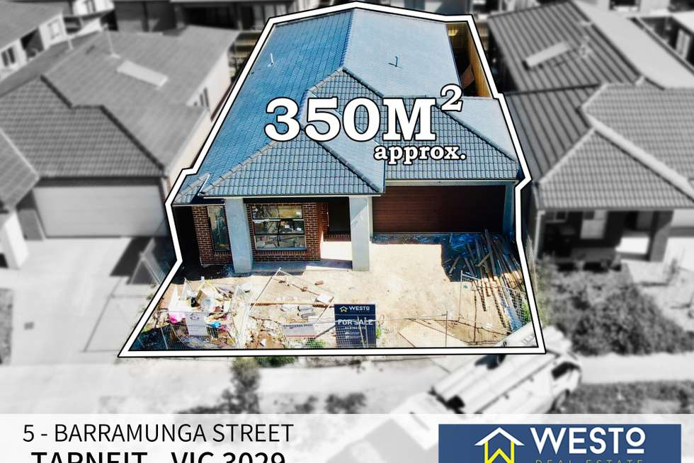 Second view of Homely residentialLand listing, 5 Barramunga Street, Tarneit VIC 3029