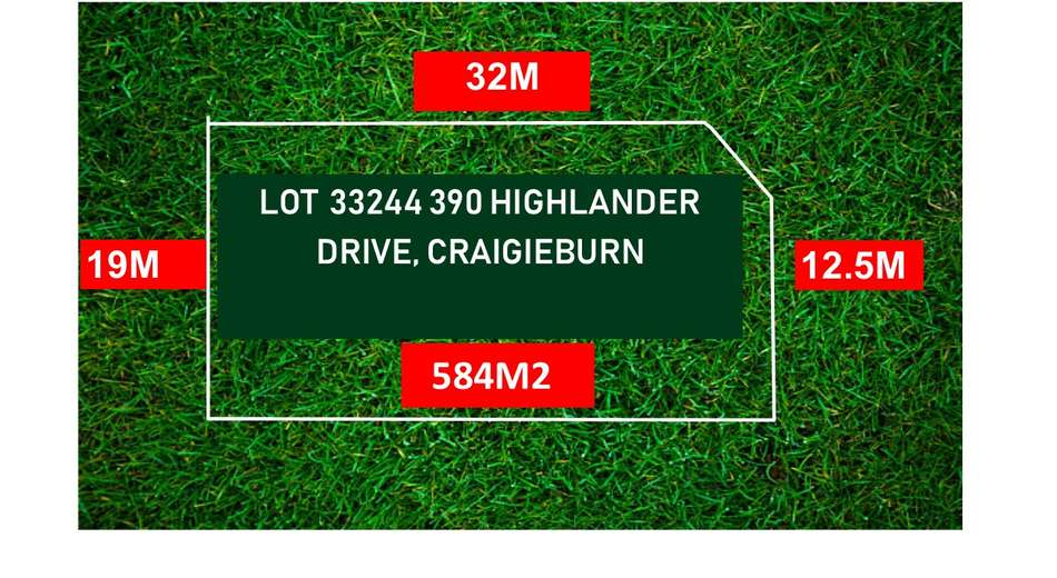 LOT 33244/390 HIGHLANDER DRIVE, Craigieburn VIC 3064