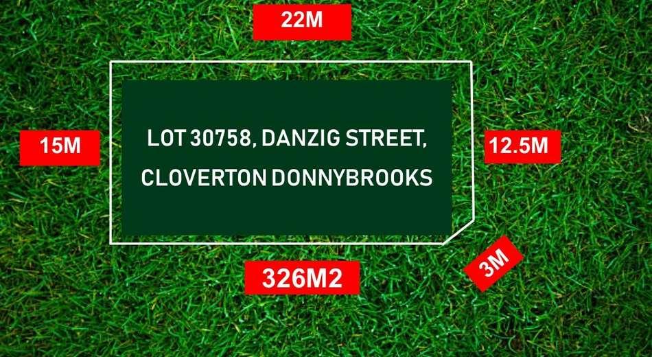 LOT 30758 DANZIG STREET, Donnybrook VIC 3064