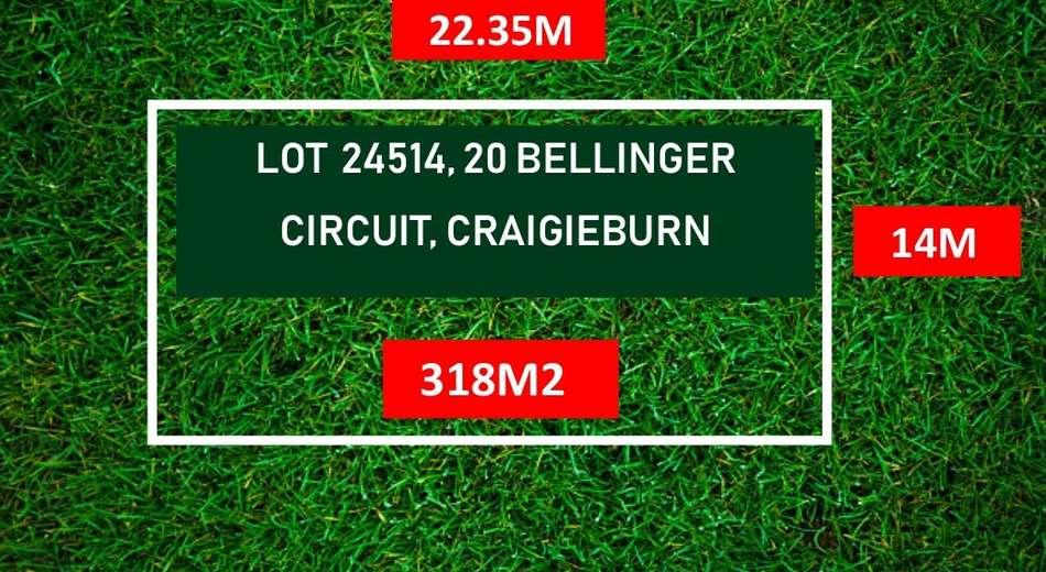 LOT 24514/20 BELLINGER CIRCUIT, Craigieburn VIC 3064