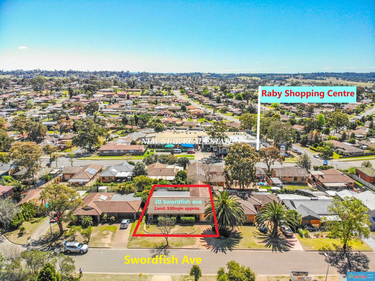 Main view of Homely house listing, 30 Swordfish Avenue, Raby, NSW 2566