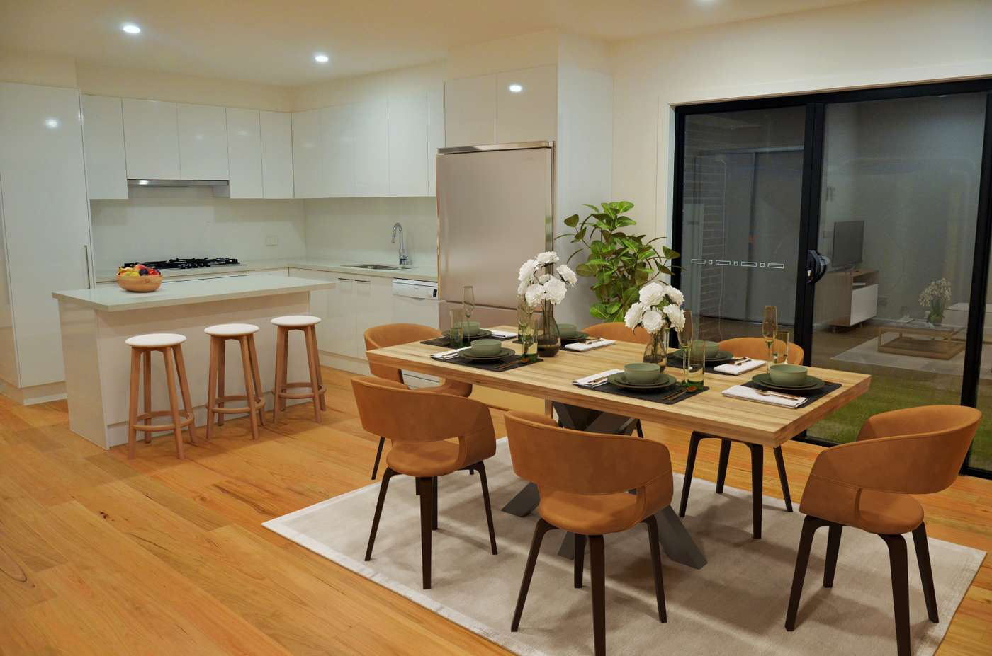Main view of Homely townhouse listing, 1/12 Curie Av, Oak Park, VIC 3046