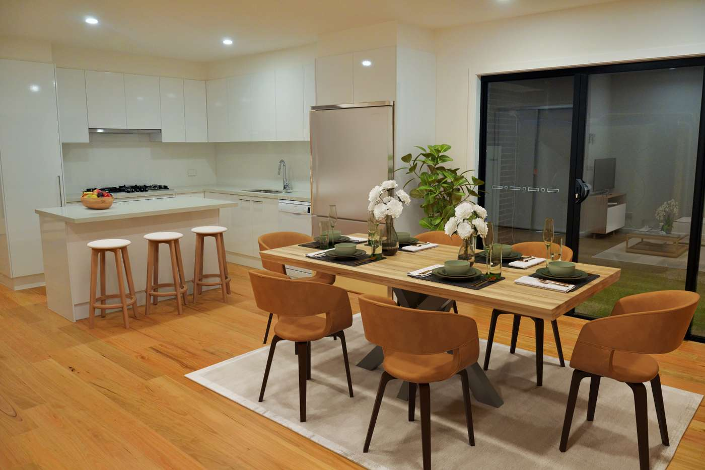 Main view of Homely townhouse listing, 1/12 Curie Av, Oak Park VIC 3046
