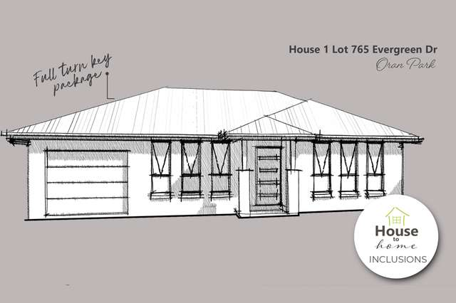 House 1, Lot 765 Evergreen Drive, Oran Park NSW 2570