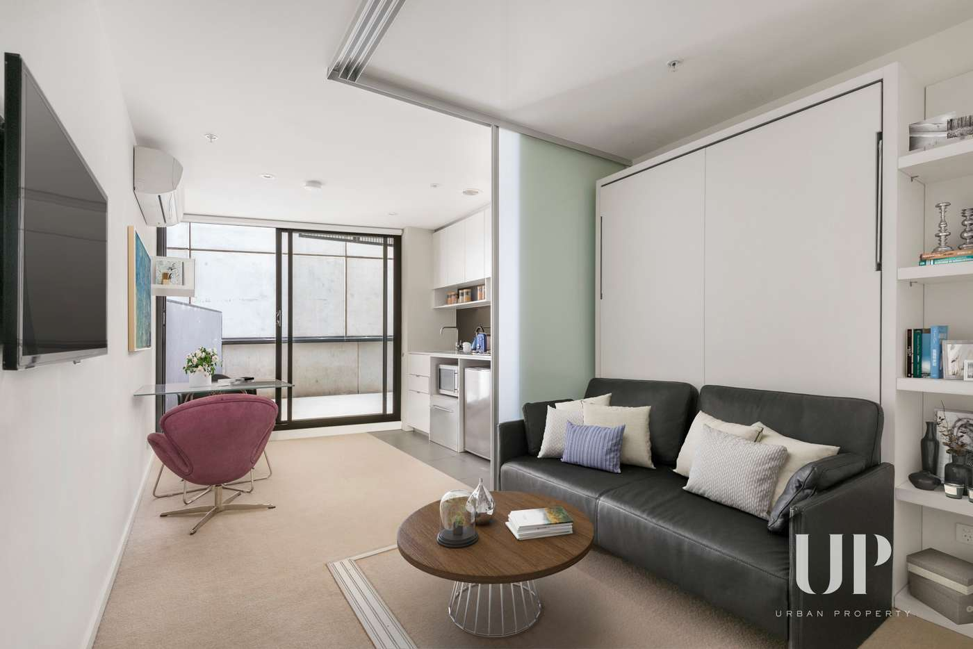Main view of Homely apartment listing, 1302/243 Franklin Street, Melbourne VIC 3000