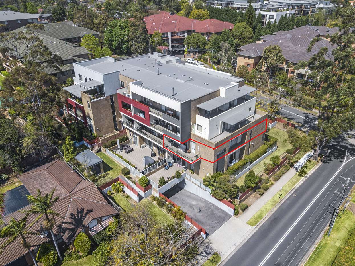 Main view of Homely apartment listing, 7/5 Sherwin Avenue, Castle Hill, NSW 2154