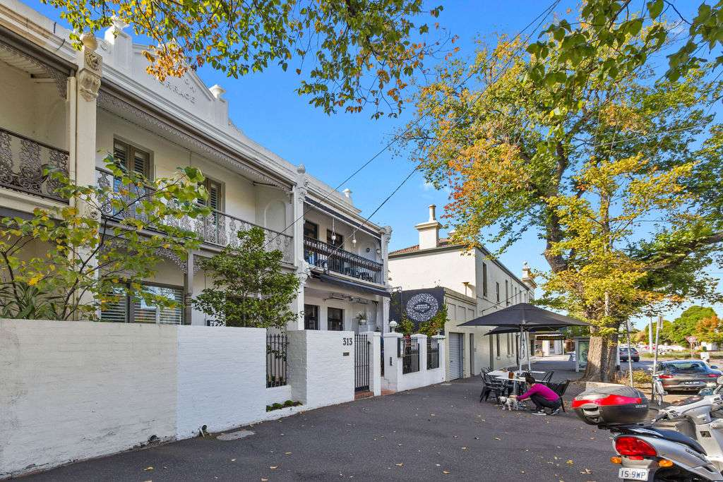 Main view of Homely terrace listing, 313 Montague Street, Albert Park, VIC 3206